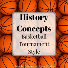 History Concepts: Basketball Tournament Style – Integrated Social Studies Social Studies Classroom, Basketball, Study, Concept, History, Studio, Historia, Studying, Research