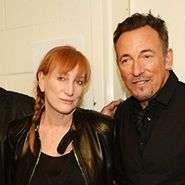 """Bruce Springsteen and Patti """"Pippi Longstocking"""" Scialfa, New Orleans 2014"""