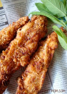 Pecan Crusted Chicken - Serves 6 From Good Dinner Mom