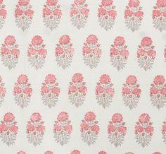 Lisa Fine Textiles | Mughal Flower Rose