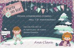 Convite Digital - Patinação no Gelo #1