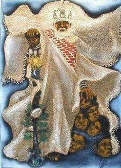 Obatala Black History, Art History, Yoruba Orishas, African Mythology, Yoruba People, Yoruba Religion, Afro Art, Religious Art, African Art
