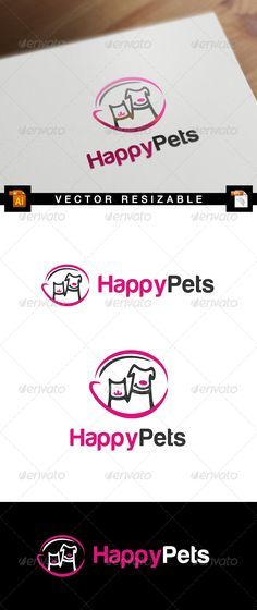 Happy Pets — Transparent PNG #food #shelter • Available here → https://graphicriver.net/item/happy-pets/7078052?ref=pxcr