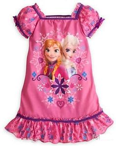Disney's Frozen Baby Girl Night Gown with by CaityBugBoutique, $18.95