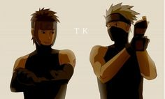 No, you really don't understand how much I love ANBU Kakashi and Yamato
