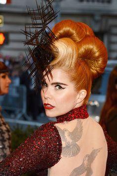 Punkfrisuren bei der Met Gala 2013: Diese Frisuren haben gepunktet! - GLAMOUR