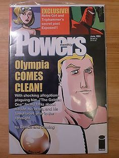 Comic Powers Monthly June 2001 Image VF NM | eBay