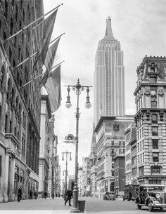 empire state bldg, new york, 1034