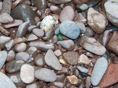 Lake Superior rocks...I was a rock collector as a child.  I am still a rock collector.