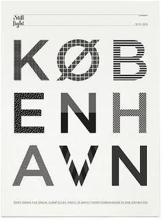 #CPH #poster #typography