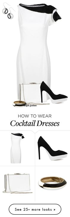 """""""Black & White"""" by rosipolooyas on Polyvore featuring SANCHEZ, Jeffrey Campbell, Kevin Jewelers, women's clothing, women's fashion, women, female, woman, misses and juniors"""