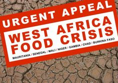 Millions face hunger in the Sahel region of West Africa. Click through to learn how you can help.
