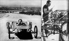 Chris Burden (1946 - 2015) 'B-Car', 1977.