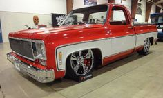 Hot Chevy Truck, but why lower it?