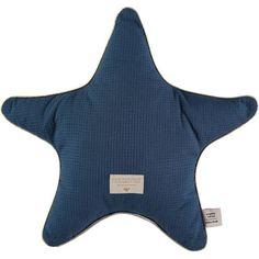 Nobodinoz ster kussen Aristote - Elements - Night Blue #nobodinoz #kidsroom #interiordesign #littlethingz