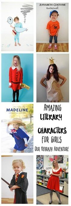 Amazing Literary Characters for Girls copy