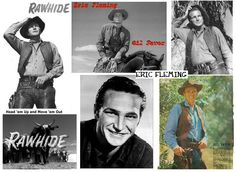 RAWHIDE with Eric Fleming as trail boss Gil Favor