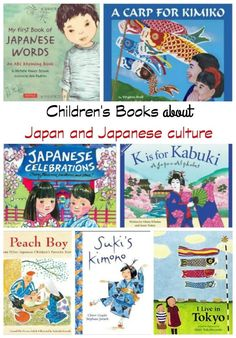 Celebrate With Kids Around The World: Japanese Children's Day - great books about Japan and Japanese culture Kids Around The World, And So It Begins, Children's Literature, Japanese Literature, Japanese Books, Thinking Day, Child Day, Japanese Language, Japanese Culture