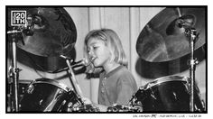 Photo 152 of 365  Zac Hanson 1995 - Performing Live - Tulsa OK	    In this shot young Zac (at age 9, the year he started drumming) is drumming on his second drum kit (his first set was a vintage ludwig). Who can tell what make of drums these are, from looking at the hardware?    #Hanson #Hanson20th