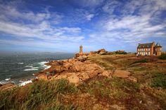La côte de Granit rose - Ploumanac h, Bretagne