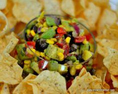 Black Bean, Corn and Avocado Salsa Recipe