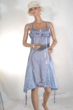 Robe bretelles grise LA MODE EST A VOUS   taille 40  ref 0616286