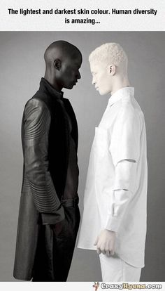 the lightest and darkest skin colour - Google Search