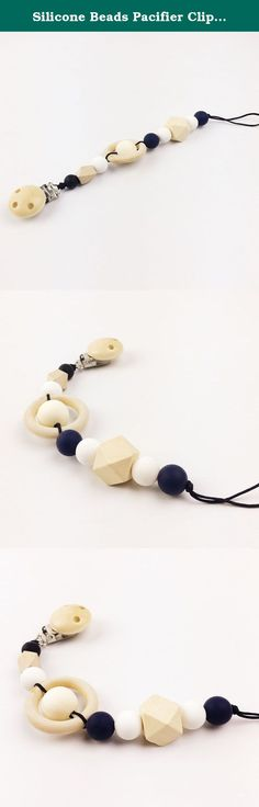 Silicone Beads Pacifier Clip Beads Baby teether Infant dummy clips silicone Teether waldorf toy wooden ring Baby Shower Gift. Welcome To Mamimami home. About Our Products: 1.Our wooden teether have passed CE/EN71-3/EN71-2 certificate. 2.Our silicone teether have passed CE /FDA /BPA FREE/EN71-3/Australian standard certificate. Attention: 1.All toys are made of natural materials and are safe for babies and children. But please don't leave your child unattended with this toy. 2.The color may...