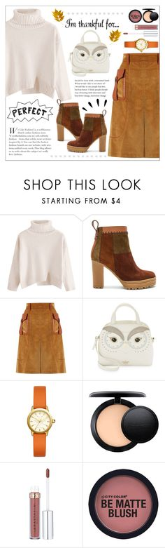 """I'm thankful for ..."" by permata-ap ❤ liked on Polyvore featuring See by Chloé, Prada, Kate Spade, Tory Burch, MAC Cosmetics and Old Navy"