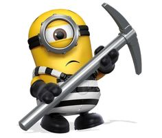 Minion Toy, 3 Minions, Real Gangster, Despicable Me 3, Prison Break, Outdoor Power Equipment, Building, Scouts, Dreams