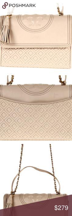 ab0070c36d26 Tory Burch Fleming Convertible Shoulder Bag Pink Tory Burch Fleming  Convertible Shoulder Bag Holds a 7