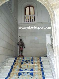 una vista al interior del Palacio de los Guzmanes, actual Diputación de León, edificio construido en el siglo XVI