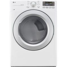FREE SHIPPING! Shop Wayfair for LG 7.4 Cu. Ft. High Efficiency Electric Dryer with TrueSteam Technology - Great Deals on all Home Improvement products with the best selection to choose from!