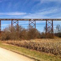 Solsberry, IN - Americas Longest Railroad Trestle, Formerly