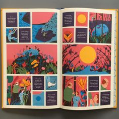With striking colours and a poignant, touching story, in Map of Days, created a truly special graphic novel ☀️✨ Graphic Novels Art And Illustration, Comic Illustrations, Comic Kunst, Comic Art, Comic Books, Up Book, Book Art, Robert Hunter, Comic Book Layout