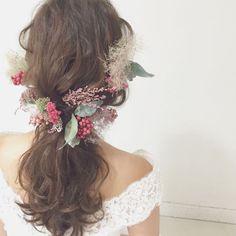 髪 ヘアー 髪飾り フラワーピース smoketree&pepperberry