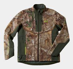 Under Armour Winter Coats and Jackets - Men's ColdGear® Infrared Ridge Reaper® Softshell Jacket - Camo