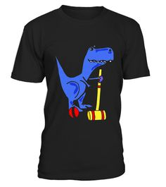 """# Smiletodaytees Funny T-rex Dinosaur Playing Croquet T-shirt .  Special Offer, not available in shops      Comes in a variety of styles and colours      Buy yours now before it is too late!      Secured payment via Visa / Mastercard / Amex / PayPal      How to place an order            Choose the model from the drop-down menu      Click on """"Buy it now""""      Choose the size and the quantity      Add your delivery address and bank details      And that's it!      Tags: Funny cool blue T-rex…"""