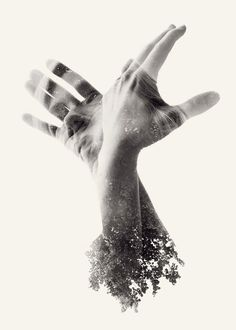 We Are Nature - Experimental Photography Series by Christoffer Relander