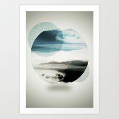 Nalunani Art Print by Mnemo′Syne - $18.00