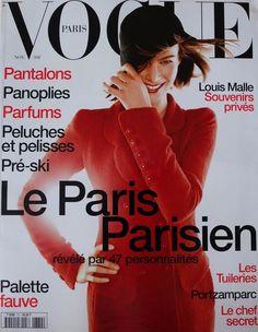 MEGHAN DOUGLAS | VOGUE PARIS NOVEMBER,1996 COVER
