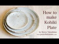 1枚のお皿ができるまで☆How to make a kohiki plate - YouTube