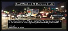 Branding. Networking. Thought leadership. There are many reasons to use #SocialMedia, including driving traffic back to your website.