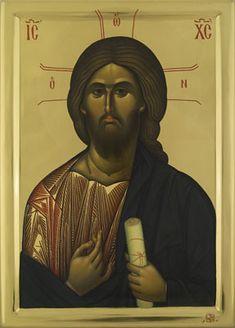 Expozitie 2018 - Lucrari Byzantine Icons, Byzantine Art, Orthodox Christianity, Orthodox Icons, Jesus Christ, Artwork, Painting, Image, God