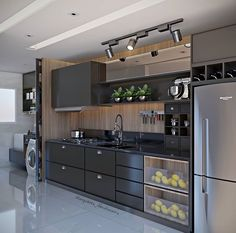 Kitchen Decor Ideas Decoration is agreed important for your home. Whether you choose the Kitchen Wall Decor Ideas or Kitchen Soffit Decorating Ideas, you will create the best Decorating Ideas For Kitchen Walls for your own life. Kitchen Room Design, Kitchen Cabinet Design, Modern Kitchen Design, Home Decor Kitchen, Interior Design Kitchen, Home Kitchens, Kitchen Ideas, Kitchen Cupboard, Classic Kitchen Cabinets