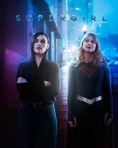 Kara Danvers Supergirl, Fan Poster, Lena Luthor, Flash Arrow, Favorite Words, The Flash, Seasons, Instagram, Art