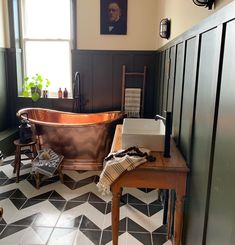 Although this bathroom is as close as it gets to a spa at home, it's usually filled with the male species, and anyone who has primary…