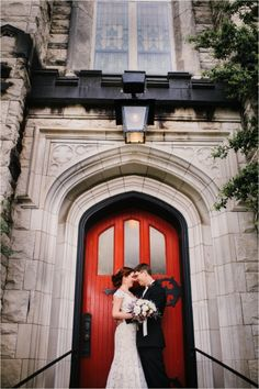 red door wedding photography, St. Johns Lutheran Church Wedding, Knoxville Wedding Photography | KLP Photography