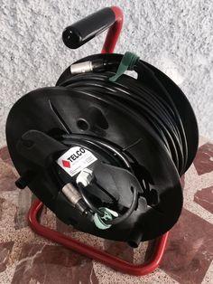 Cable drum con cable de datos Cat6 estándar