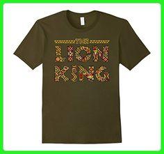 Mens Disney Lion King Sahara Logo Graphic T-Shirt Medium Olive - Animal shirts (*Amazon Partner-Link)